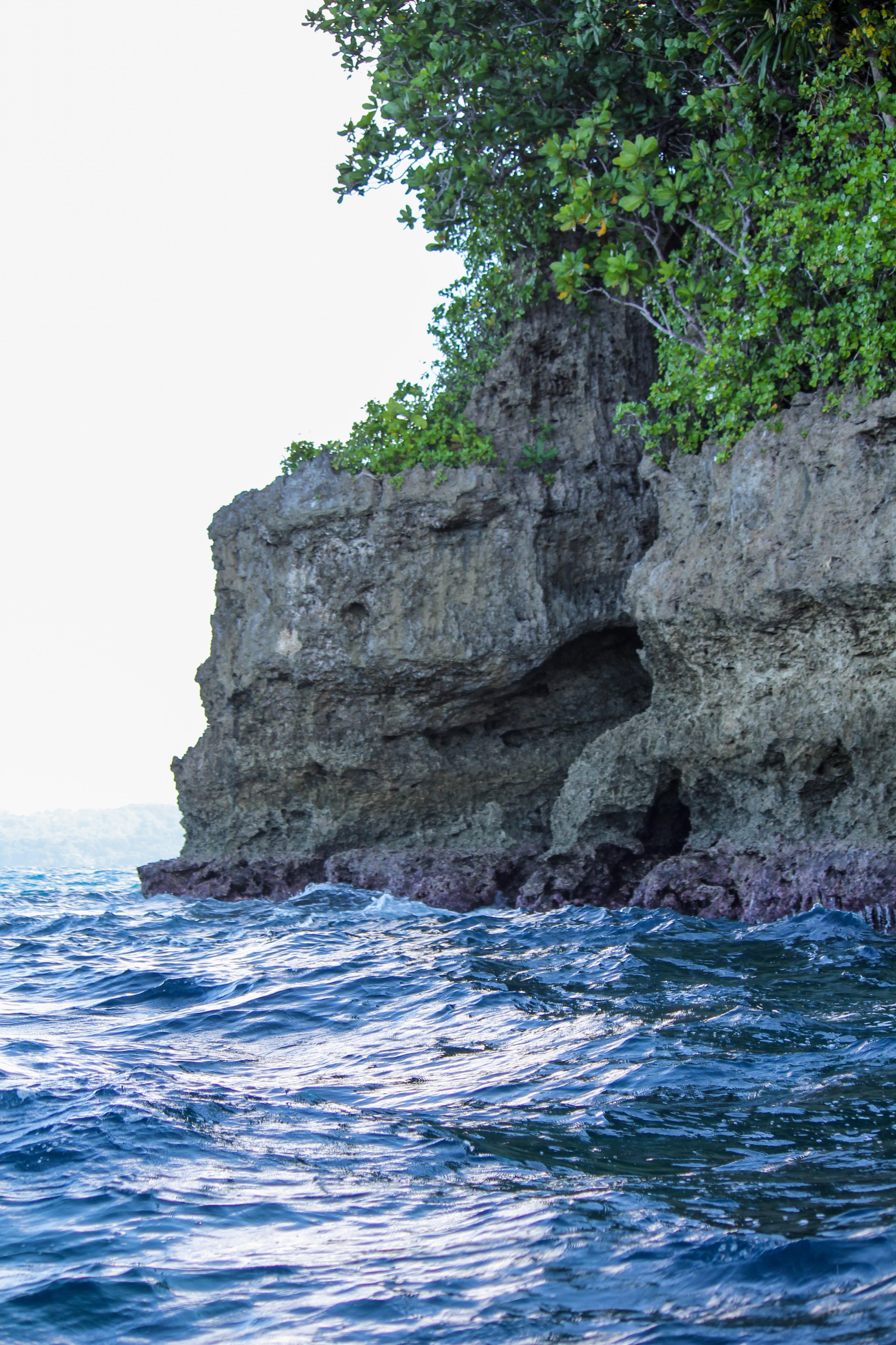 Solomon Island cliff