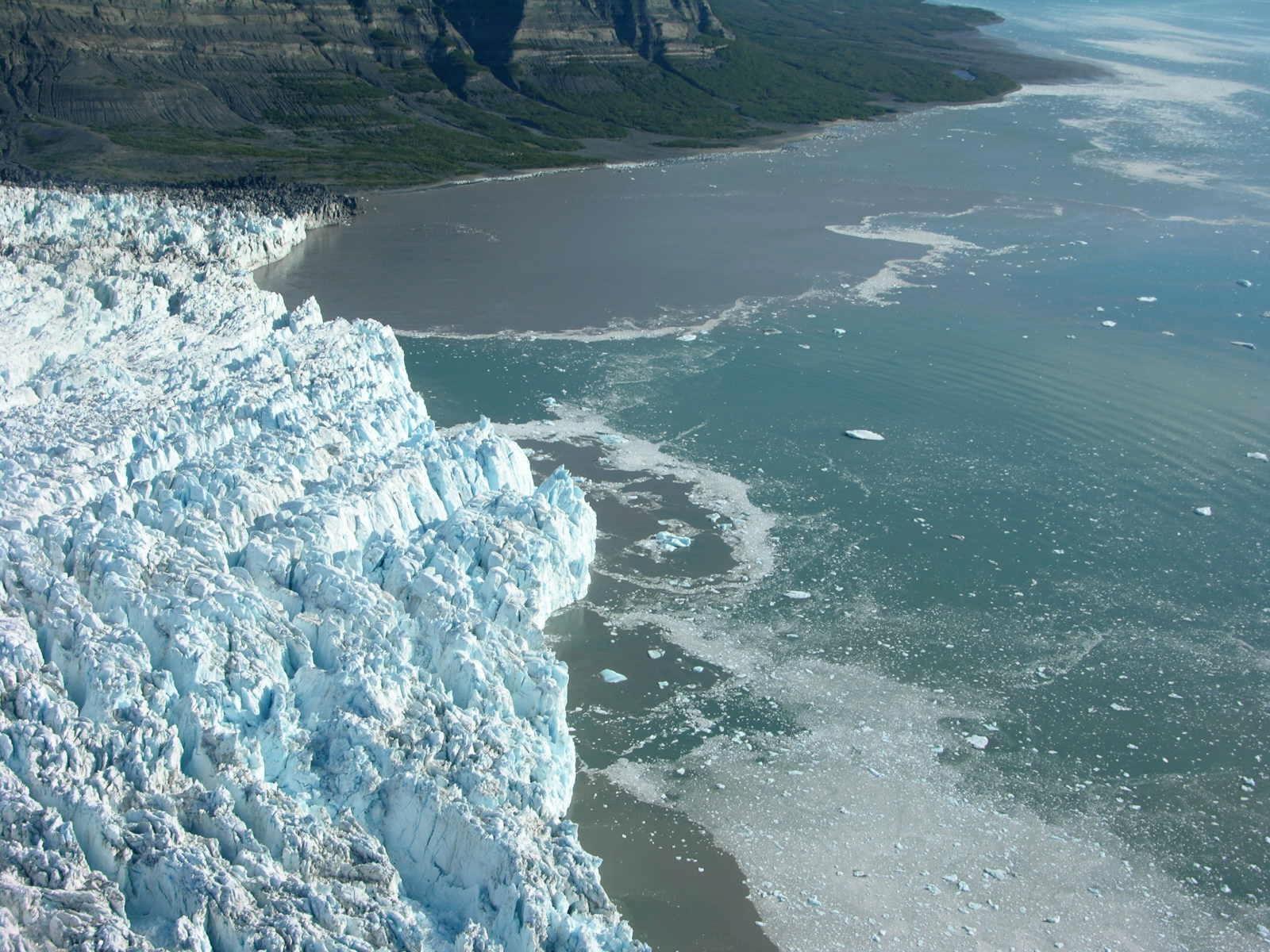 Yahtse Glacier in Alaska