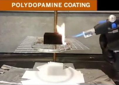 Polydopamine demonstration