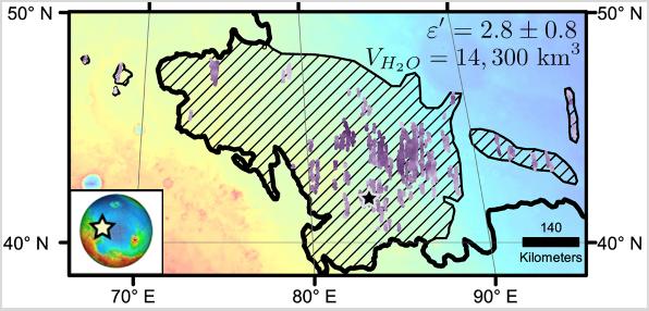 Utopia Planitia map