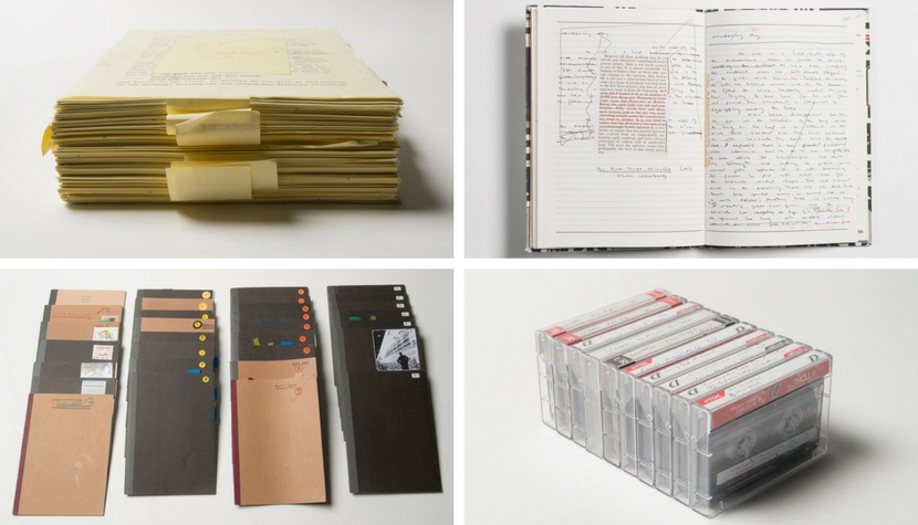 Materials from the Michael Ondaatje archive.