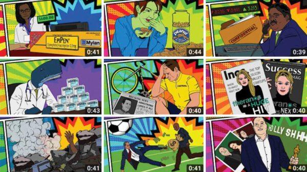 Nine ethics unwrapped comic panels