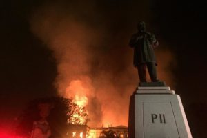 Fire at the National Museum of Brazil