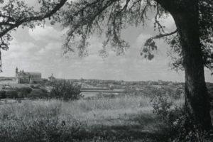 UT Austin campus from Wooldridge Hill, 1902