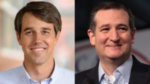 Sen Cruz and Beto O'Rourke