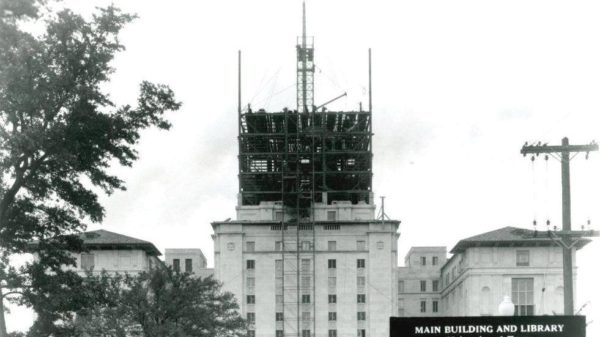 Tower under construction