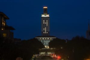 UT Tower, George H.W. Bush