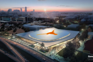 UT Basketball arena