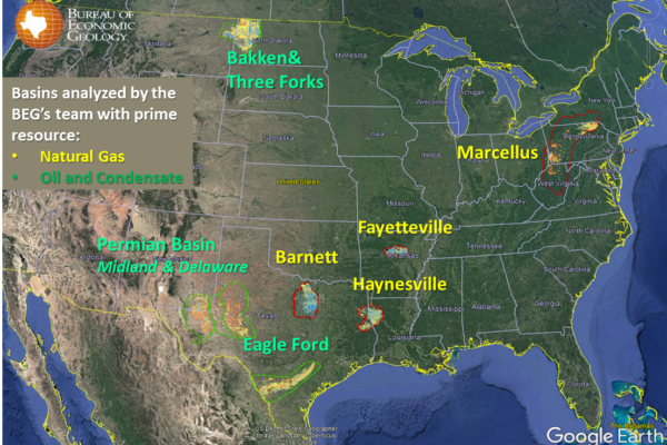 Shale Play Map