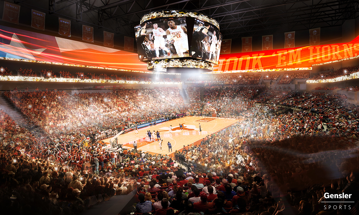 Texas Longhorns basketball arena