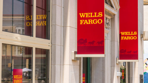 Wells Fargo Branch Sign