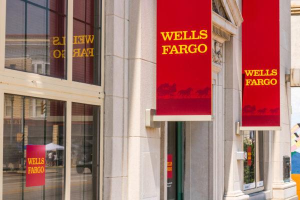 Wells Fargo Branch Sign