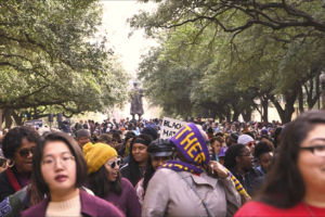 The annual march honoring Martin Luther King Jr. on UT Austin campus.