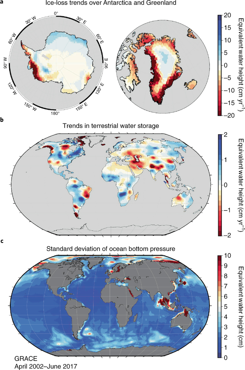 Grace Mission Data Contributes To Our Understanding Of Climate