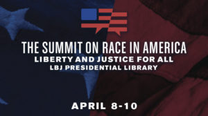 LBJ Summit on Race Logo