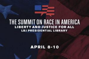 LBJ Summit on Race Logo