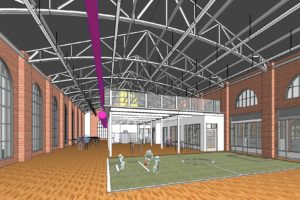 Anna Hiss Gym rendering