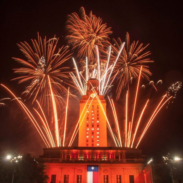 2019 Commencement fireworks.