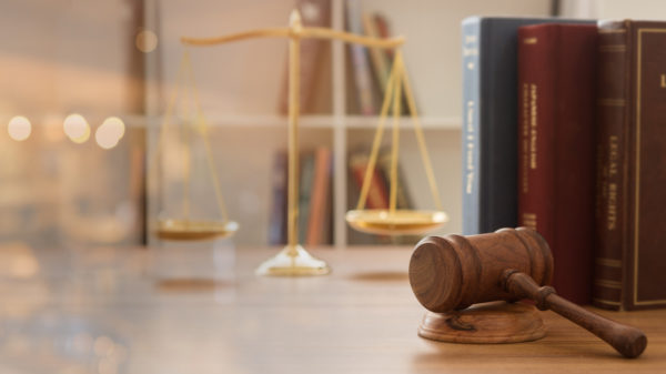 Judge gavel with law books and scales of justice. concept of justice, legal, jurisprudence