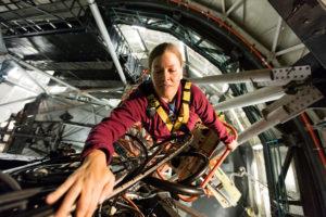 Hobby-Eberly Telescope staffer Emily Mrozinsky