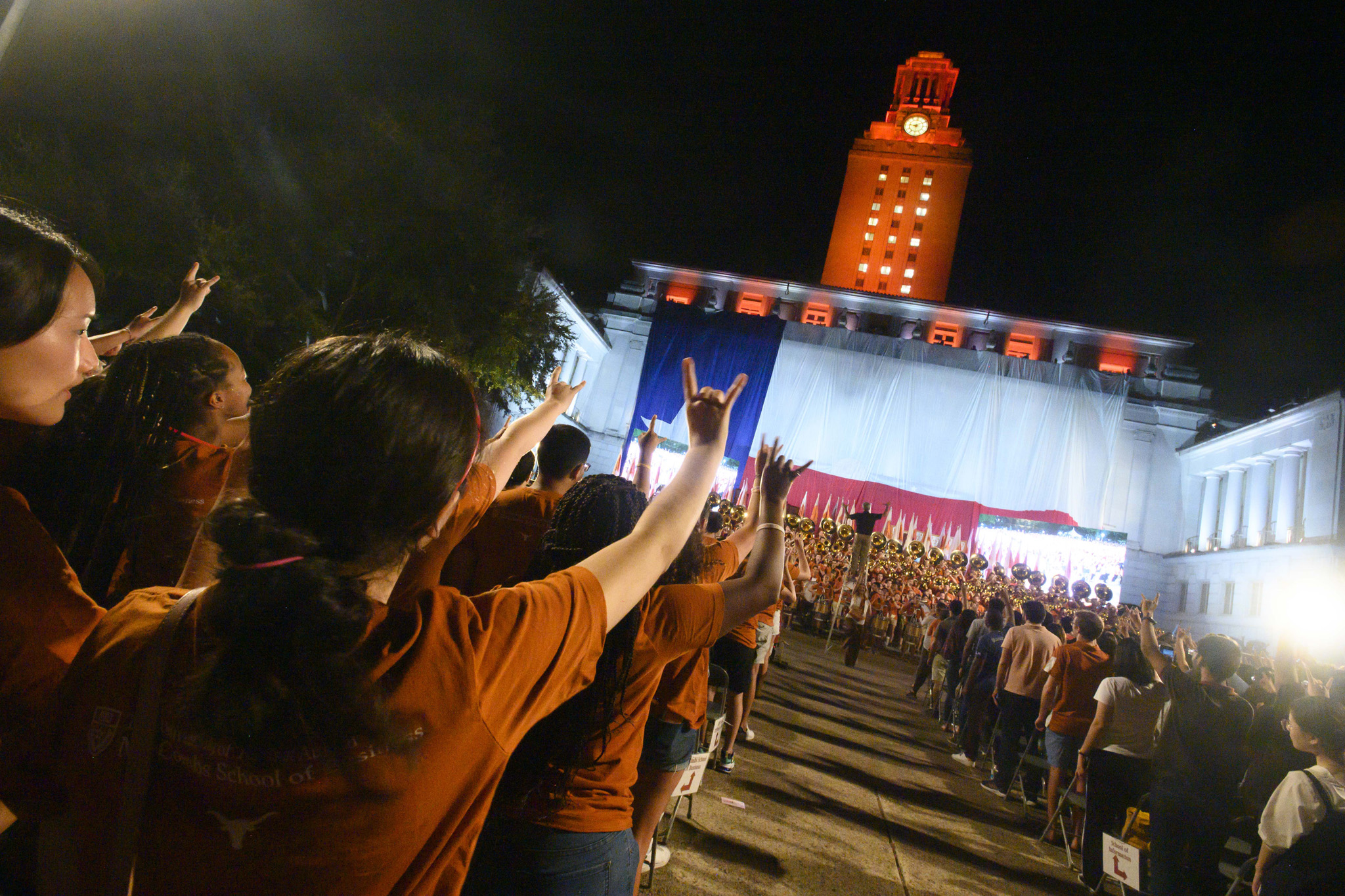 Along with Mooov-In, Horns Up Night, and Party of the Plaza, Gone to Texas is part of Longhorn Welcome, a series of events for students at the start of a new academic year.
