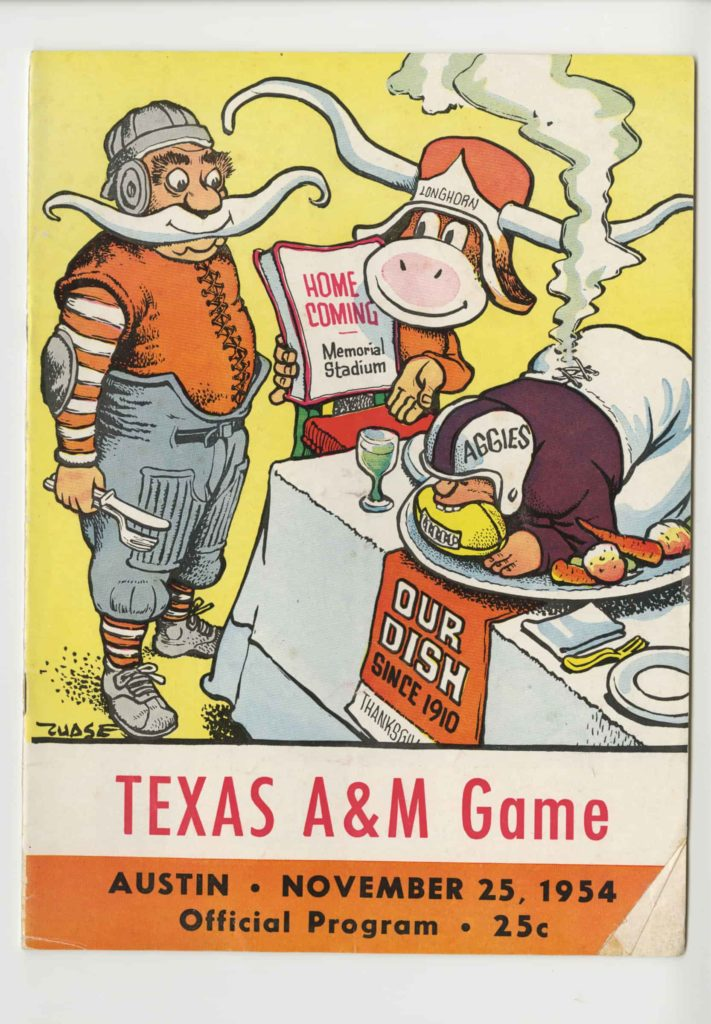 UT vs. A&M Game 1954