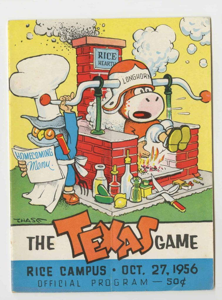 UT vs Rice 1956 Game