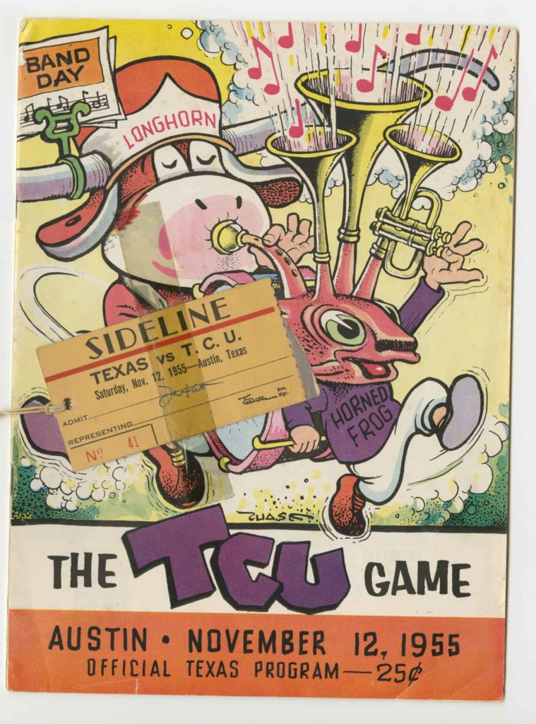 UT vs TCU Game 1955