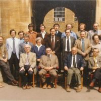 John Goodenough of the University of Texas at Austin, who won the Nobel Prize for chemistry today, at Oxford in 1982.