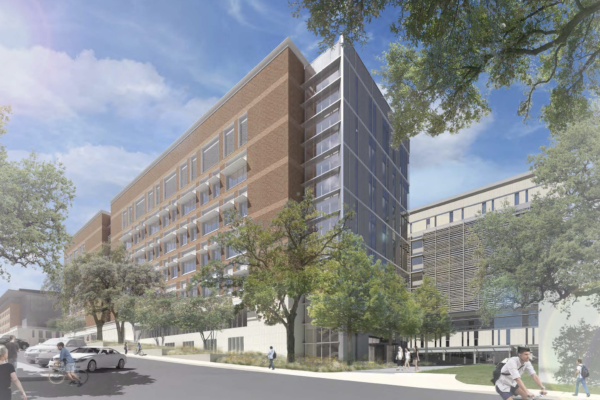 Rendering of the new Energy Engineering Building at UT Austin.