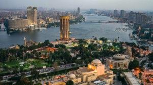 Nile river in Cairo