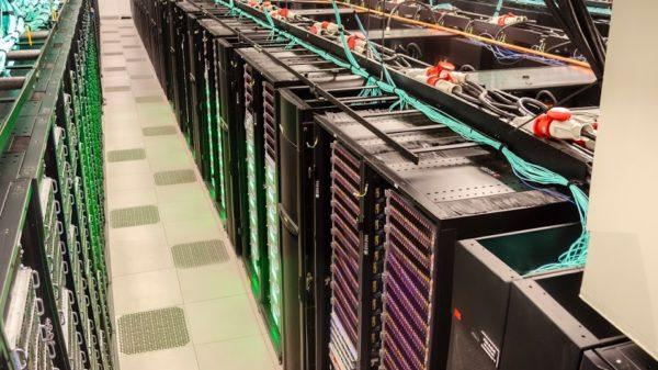 Supercomputers at the TACC. Credit: TACC