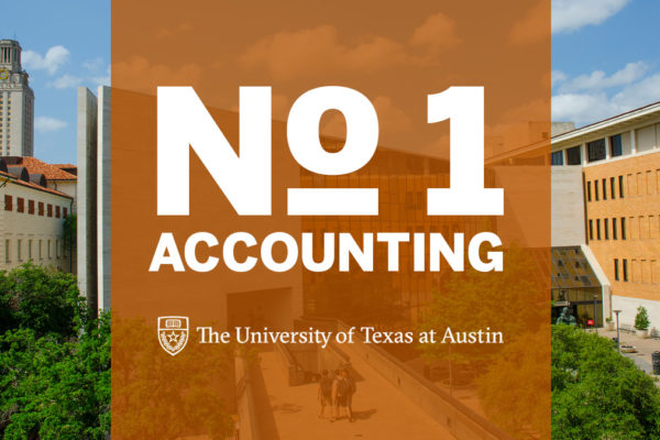 UT Austin is number 1 in Accounting