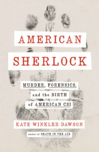 "The book cover for ""American Sherlock"""