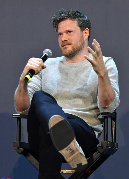 Michael Bricker speaks onstage at the Netflix FYSEE Craft Day at Raleigh Studios on May 18, 2019 in Los Angeles, California.
