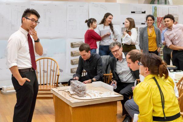 UT Architecture students present ideas