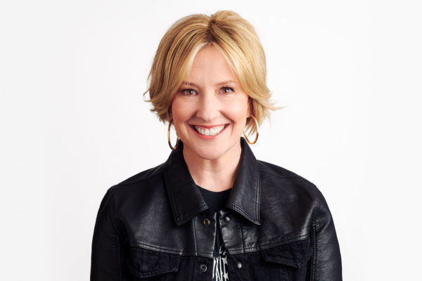 Brené Brown against a white background.