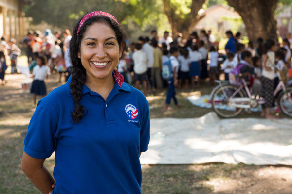 nearly 1,900 alumni from the university have served abroad as Peace Corps volunteers.
