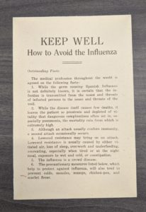 Pamphlet prepared by the Executive Committee of the Faculty