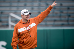 UT Head Football Coach Tom Herman