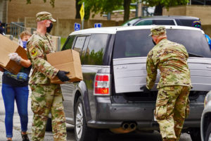 Texas national guard respond to pandemic