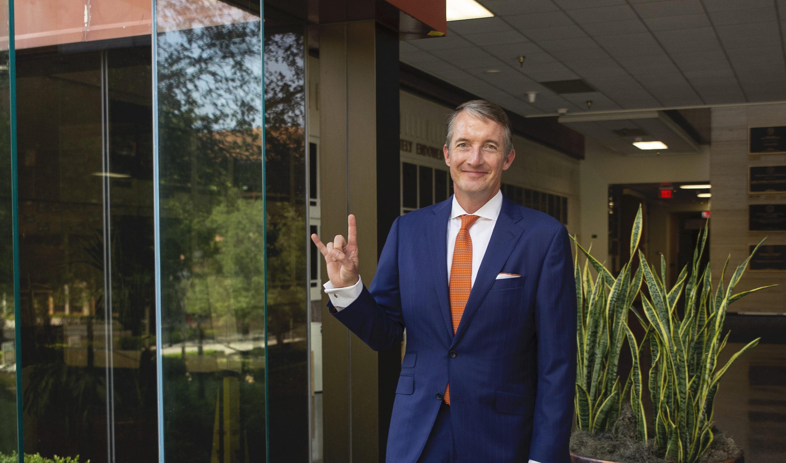 Jay Hartzell Named President of UT Austin - UT News