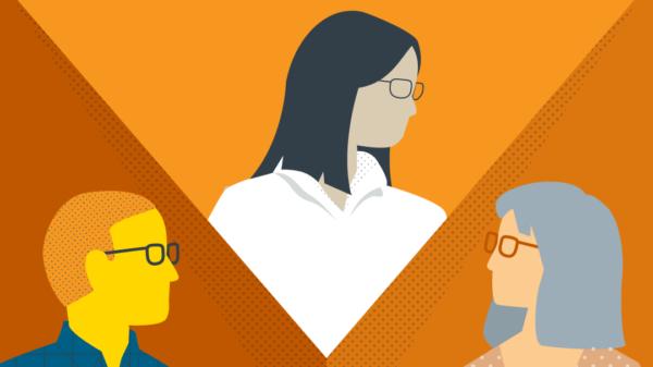 Illustration of Office of Instructional Innovation team