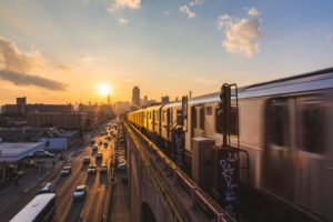 UT researcher Junfeng Jiao is using AI algorithms to predict the spread of COVID-19 through the New York state transportation system.