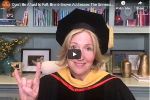 Brene Brown delivers 2020 Commencement address