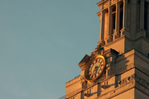 UT Tower close up