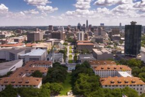 Austin skyline, downtown from Tower