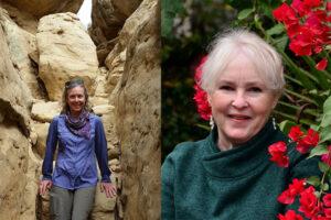 Sheryl Luzzadder-Beach (left) and Dee Unglaub Silverthorn