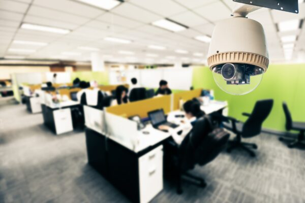 CCTV or surveillance in office