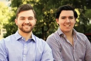Longhorns Connor Phelps (communications, 2018) and Javier Huerta (government, 2021) co-founded tech company Wheelist